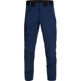 Peak Pertilmance M's Light Softshell Pants Thermal Blue